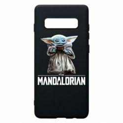 Чехол для Samsung S10+ Yoda with a cup