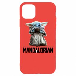 Чехол для iPhone 11 Pro Max Yoda with a cup