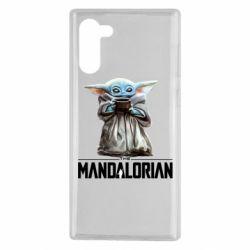 Чехол для Samsung Note 10 Yoda with a cup
