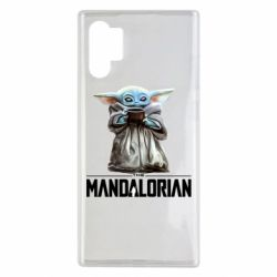 Чехол для Samsung Note 10 Plus Yoda with a cup