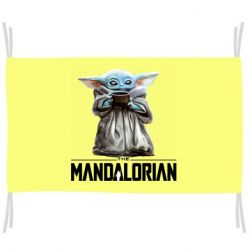Флаг Yoda with a cup