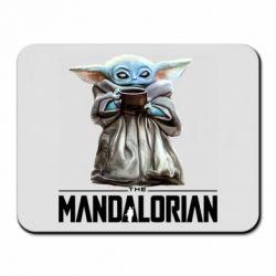 Коврик для мыши Yoda with a cup