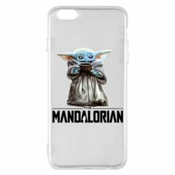 Чехол для iPhone 6 Plus/6S Plus Yoda with a cup