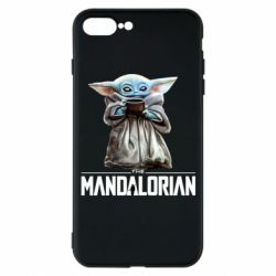 Чехол для iPhone 7 Plus Yoda with a cup