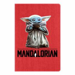 Блокнот А5 Yoda with a cup