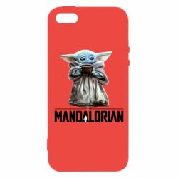 Чехол для iPhone5/5S/SE Yoda with a cup