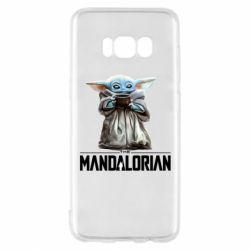Чехол для Samsung S8 Yoda with a cup