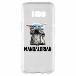 Чехол для Samsung S8+ Yoda with a cup
