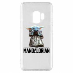 Чехол для Samsung S9 Yoda with a cup
