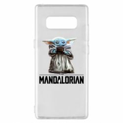 Чехол для Samsung Note 8 Yoda with a cup