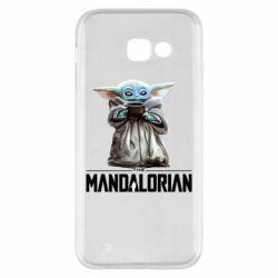 Чехол для Samsung A5 2017 Yoda with a cup