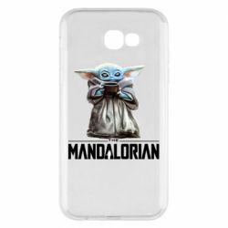 Чехол для Samsung A7 2017 Yoda with a cup