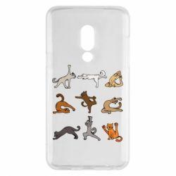 Чохол для Meizu 15 Yoga cats - FatLine
