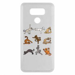 Чохол для LG G6 Yoga cats - FatLine