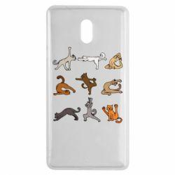 Чохол для Nokia 3 Yoga cats - FatLine
