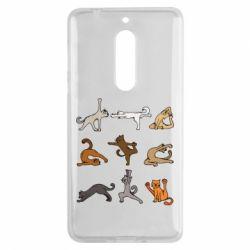 Чохол для Nokia 5 Yoga cats - FatLine