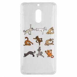 Чохол для Nokia 6 Yoga cats - FatLine