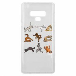 Чохол для Samsung Note 9 Yoga cats - FatLine