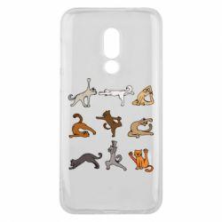 Чохол для Meizu 16 Yoga cats - FatLine