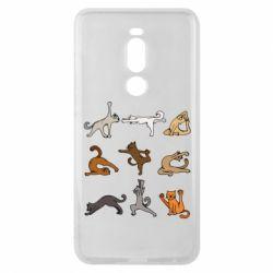 Чохол для Meizu Note 8 Yoga cats - FatLine