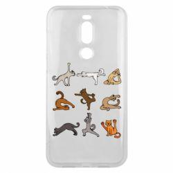 Чохол для Meizu X8 Yoga cats - FatLine