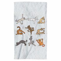 Рушник Yoga cats - FatLine