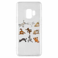 Чохол для Samsung S9 Yoga cats - FatLine