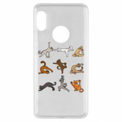 Чохол для Xiaomi Redmi Note 5 Yoga cats - FatLine