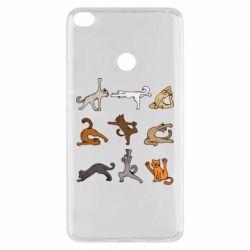 Чохол для Xiaomi Mi Max 2 Yoga cats - FatLine