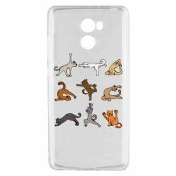Чохол для Xiaomi Redmi 4 Yoga cats - FatLine