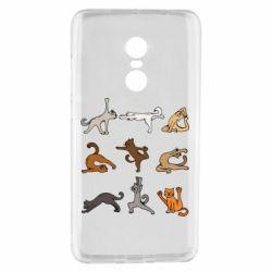 Чохол для Xiaomi Redmi Note 4 Yoga cats - FatLine