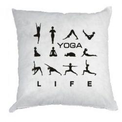 Подушка Йога life