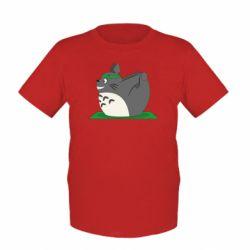 Дитяча футболка Yoga totoro