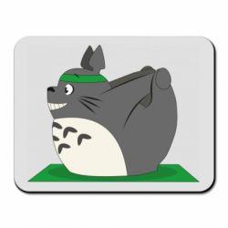 Килимок для миші Yoga totoro