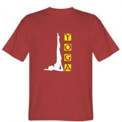Мужская футболка Yoga - FatLine