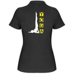 Женская футболка поло Yoga - FatLine