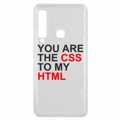 Чехол для Samsung A9 2018 You are CSS to my HTML