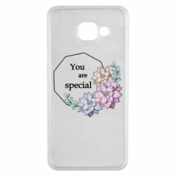 Чехол для Samsung A3 2016 You are special