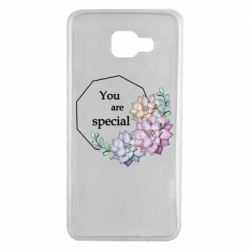 Чехол для Samsung A7 2016 You are special