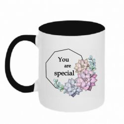 Кружка двухцветная 320ml You are special