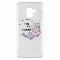 Чехол для Samsung A8 2018 You are special