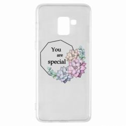 Чехол для Samsung A8+ 2018 You are special
