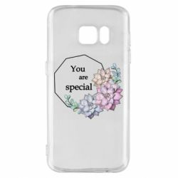 Чехол для Samsung S7 You are special
