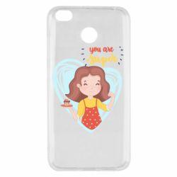 Чехол для Xiaomi Redmi 4x You are super girl