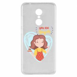 Чехол для Xiaomi Redmi 5 You are super girl