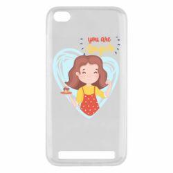 Чехол для Xiaomi Redmi 5A You are super girl