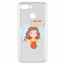 Чехол для Xiaomi Redmi 6 You are super girl