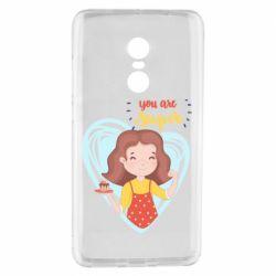 Чехол для Xiaomi Redmi Note 4 You are super girl