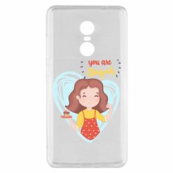 Чехол для Xiaomi Redmi Note 4x You are super girl