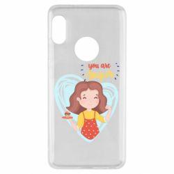 Чехол для Xiaomi Redmi Note 5 You are super girl